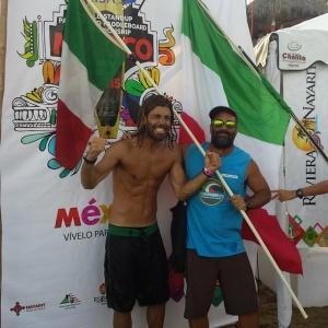 Alessandro Onofri passa il turno ai mondiali in Messico di SUP