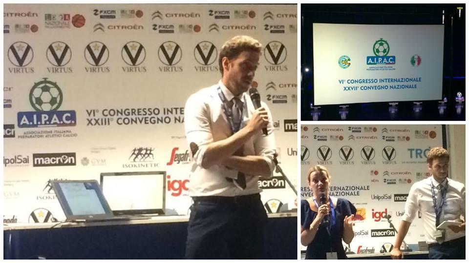 Intervento del Dott. Andrea Del Seppia al VI° Congresso Internazionale e XXVII° Convegno Nazionale AIPAC