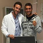 Boxe Orlando Fiordigiglio con Andrea Del Seppia