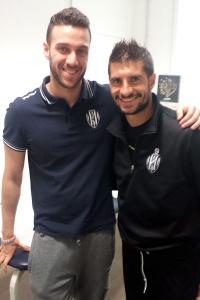 A.C. Cesena Calcio - Franco Brienza con Andrea Del Seppia