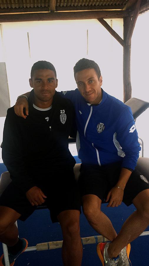 A.C. Cesena Calcio - Grégoire Defrel con Andrea Del Seppia