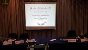 """Congresso """"Nutrigenomica: teoria e pratica"""" - Bologna, Relatore Andrea Del Seppia"""