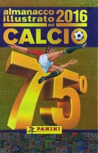 Copertina Almanacco Panini,  stagione 2015-2016