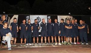 Il Mister Pierpaolo Bisoli presenta lo staff tecnico del Cesena Calcio, Stagione di serie A - anno 2014-2015