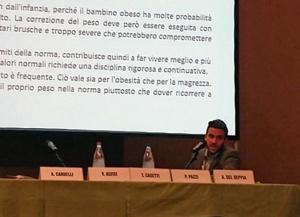 Nutrizionista Andrea Del Seppia relatore Congresso Grastrocervia 2014