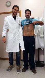 Obesità dopo: Lorenzo a 76 Kg. con il Dott. Del Seppia