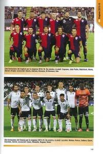 A.C. Cesena Calcio, nell'Almanacco Panini - Serie B 2015-2016. Pagina organico squadra.