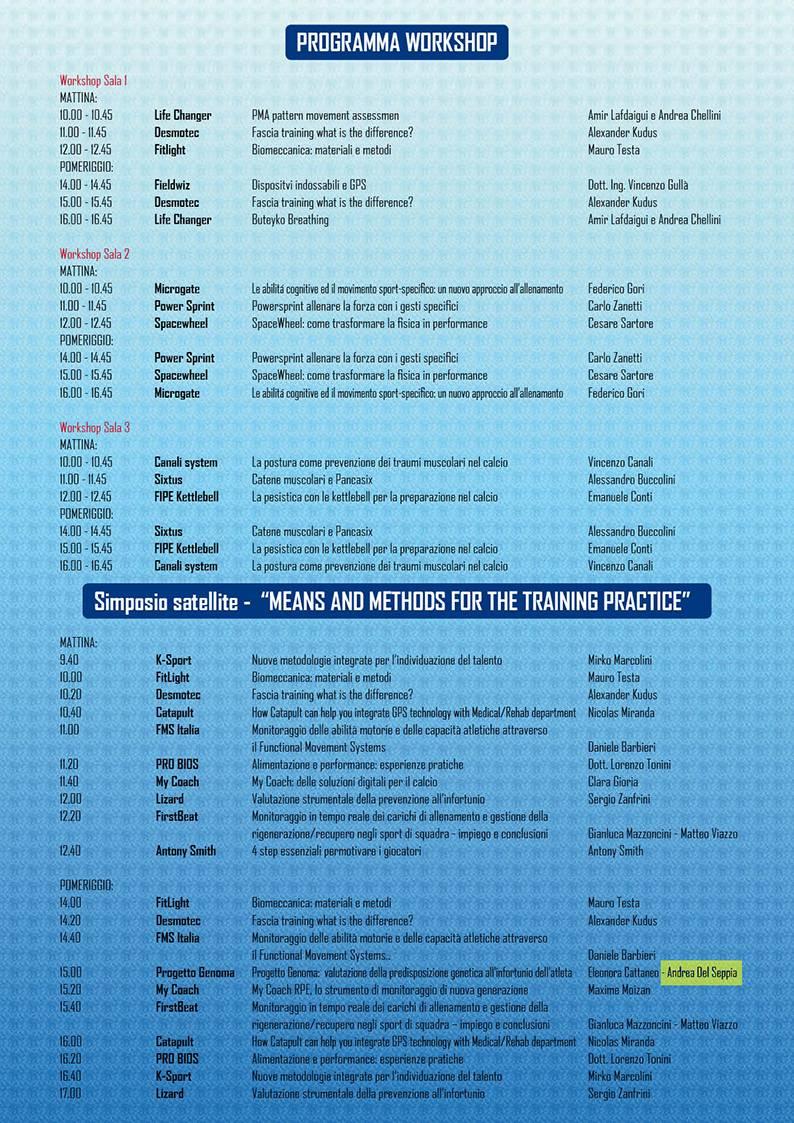 Locandina del VI° Congresso Internazionale e XXVII° Convegno Nazionale AIPAC con intervento del Dott. Andrea Del Seppia