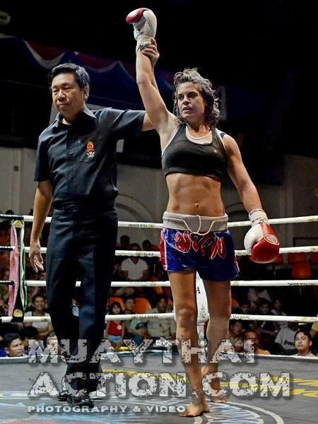 Andrea Del Seppia e la nutrizione nella muay thai: Michela Socci, vittoriosa in Thailandia